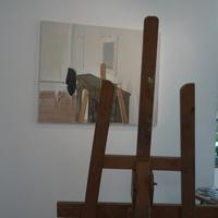 """Marc Girard à la """"Maison rigolote"""" (Laval), en 2012."""