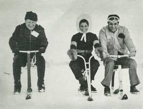 Décembre 1967 - Janvier 1968 : Dans une heure tu skieras là...