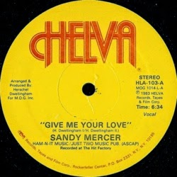 Sandy Mercer - Give Me Your Love