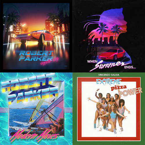 L'esthétique Miami Night and Summer de la Synthwave