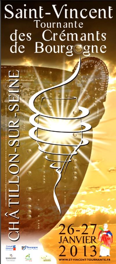La Saint Vincent tournante aura lieu à Châtillon sur Seine en 2013