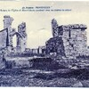 montfaucon ruines église carte écrite 1948