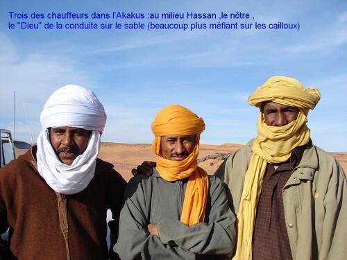 Ghat et l'Akakus
