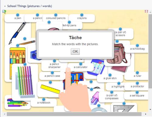 SCHOOL THINGS / vocab