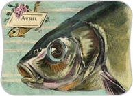 Poisson d'Avril ! Cartonnettes