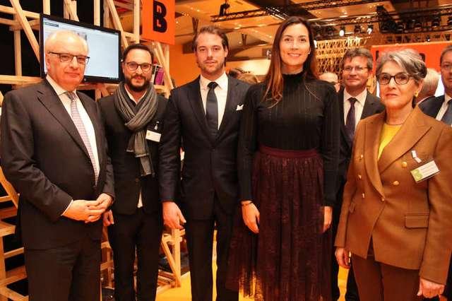 Ouverture officielle de la foire du livre: Frankfurter Buchmesse