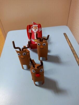 Un traineau pour Noël