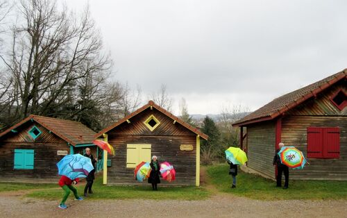 Les parapluies de Belmont de la Loire