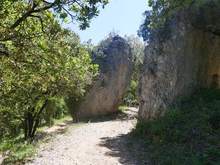 La porte de Valbelle (côté Ouest)