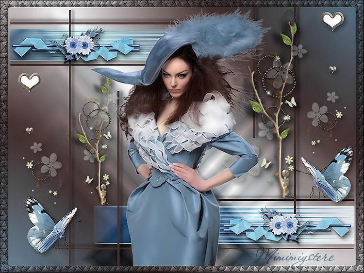 Un lit de bonheur, bon 1er mai à tous, Gros bisous--Papillons de mai