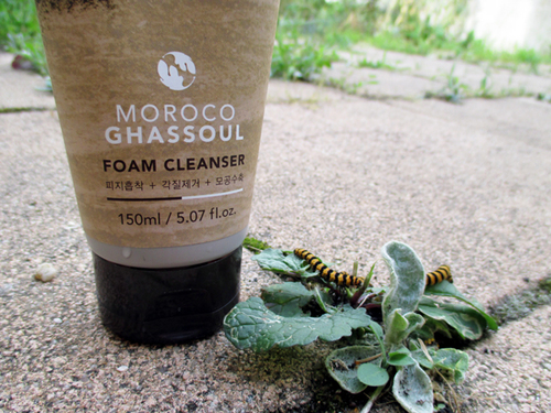 Evening cleanser : Moroco ghassoul foam cleanser - Nature Republic