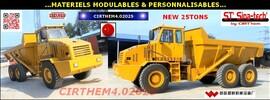 CHINE: matériels modulables & personnalisables.