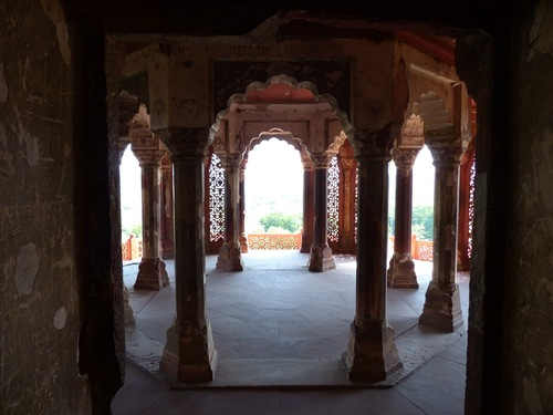 le fort rouge à Agra  suite