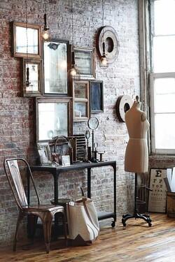 Les miroirs dans la maison