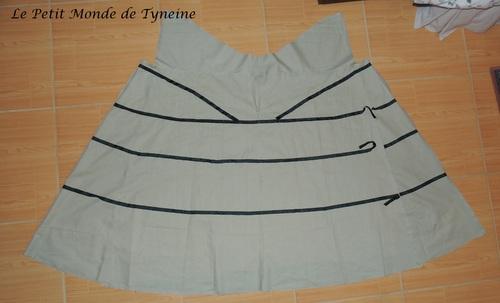 Robe 18ème à la Française - Sous-vêtements - underwear 18th