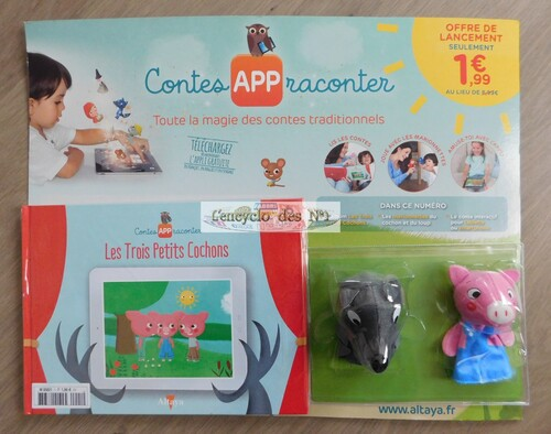 N° 1 Contes APP raconter - Lancement