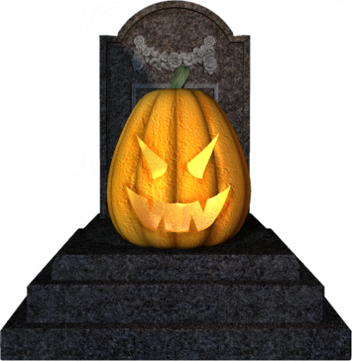 Tubes halloween cimetière