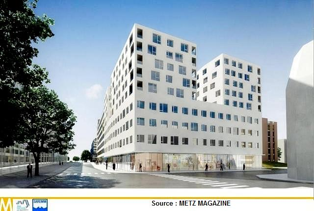 Quartier de l'Amphithéâtre Metz 11 Marc de Metz 2012