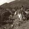 The Scout. Taos Mountains. New Mexico. 1904-1914. Photo by Carl Moon.