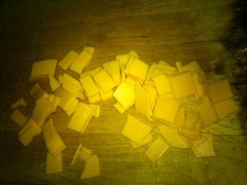 Lasagne Poireaux mimolette (parce que ça faisait longtemps^^)