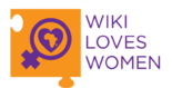 Logo Wiki Love Women - Licence Créative Commons Attribution-Share Alike 4.0 International. ; auteur : Thandiwe Tshabalala