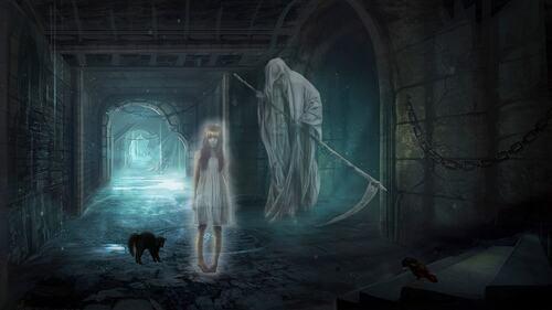 fond fantômes