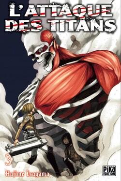 Chronique L'Attaque des Titans - tome 3