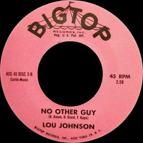 "Lou Johnson : Album "" With You In My Mind "" Volt Records VOS-6017 [ US ]"