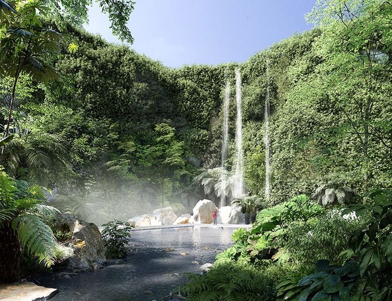 "Le ""Jardin extraordinaire"" de Nantes."
