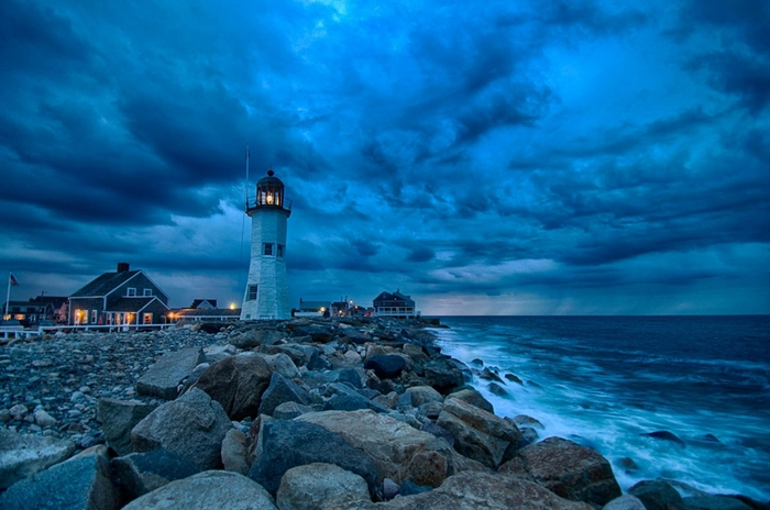 Phare Old Scituate, Massachussetts, USA...