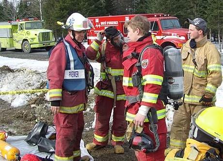 Galerie photos 16 avril 2011 entraînement des pompiers