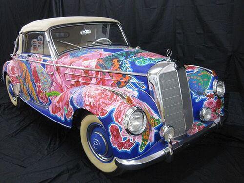 Automobiles et couleurs!