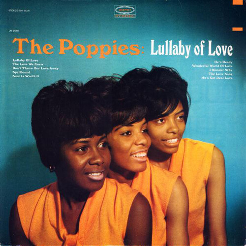 "The Poppies : Album "" Lullaby Of Love "" Epic Records BN 26200 [ US ]"