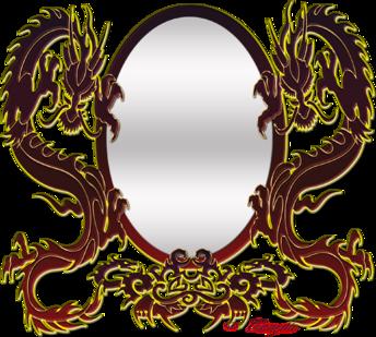 Miroir draguon