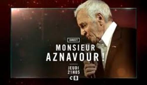 Monsieur Aznavour.. C8 3/10/19..C.Hanouna