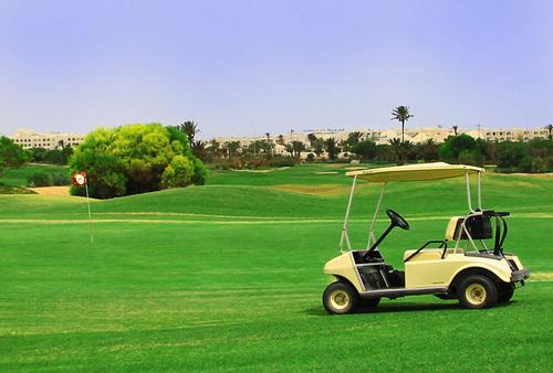Parcours de Golf Djerba -Terrain de golf Djerba Tunisie