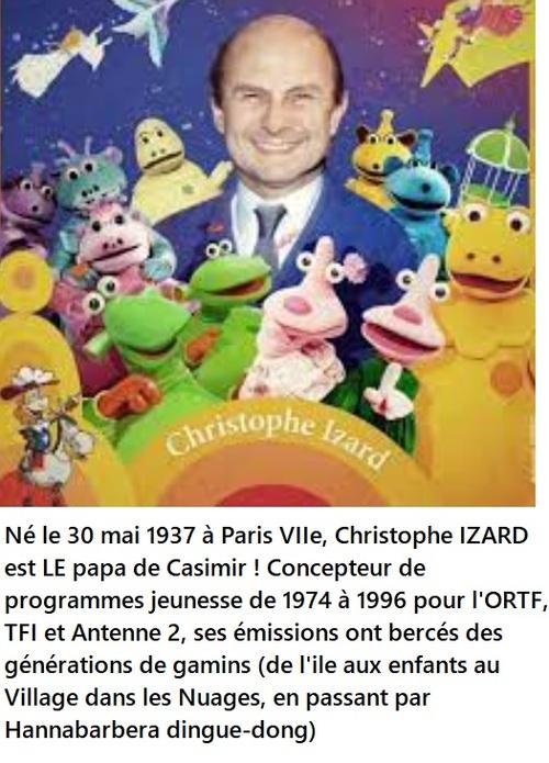 Nostalgiques ? Christophe Izard