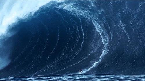 Se laisser porter par la vague...
