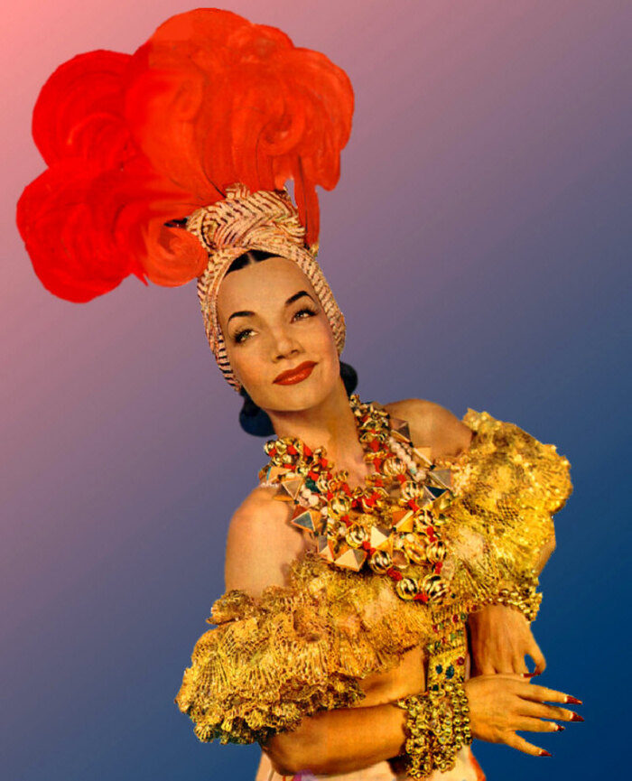 Carmen MIRAND dans The Lady In The Tutti Frutti Hat