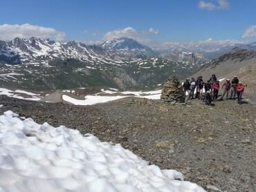 Col de la Rocheure (2948 m)