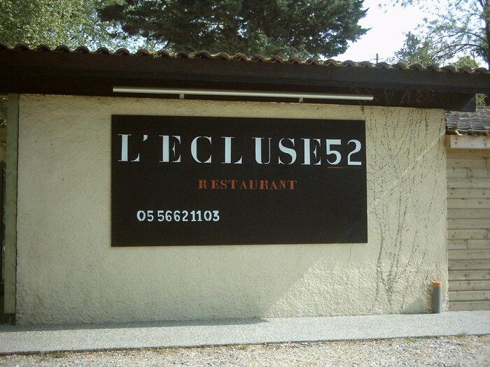 RESTAURANT DE L'ECLUSE 52 Castets-en-Dorthes(gironde)