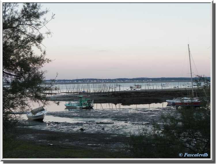 Fin du jour sur le Bassin d'Arcachon