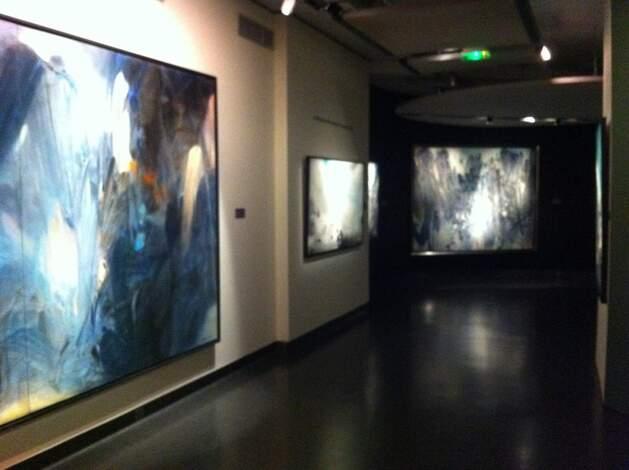 L'exposition Chu Teh-Chun