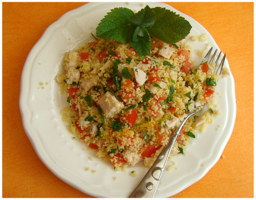 "TABOULÉ LIBANAIS AU POULET,"" Weight Watchers """