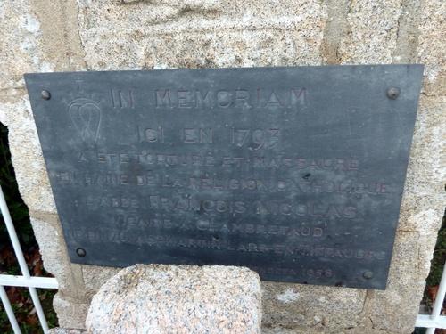 Le martyre de l'abbé Nicolas....