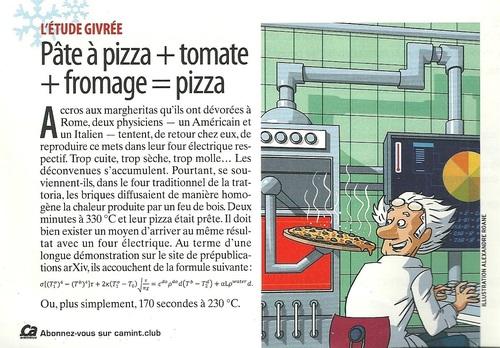 Une bonne pizza?