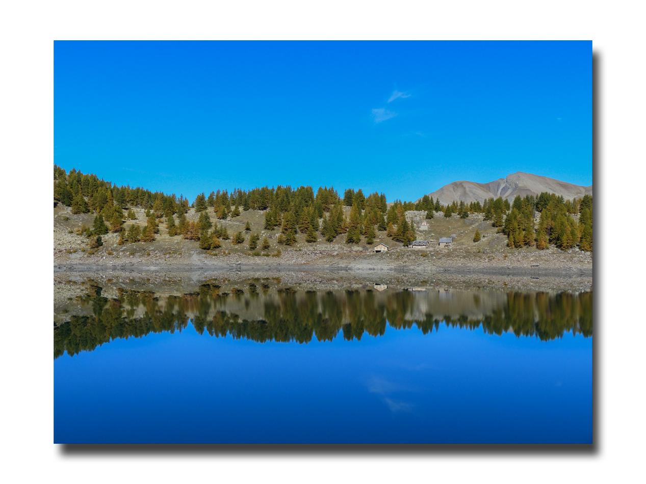 Une virée au lac d'Allos.