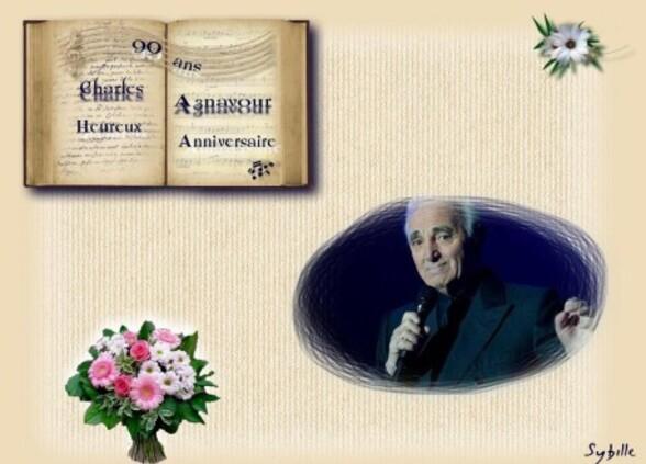 anniv.aznavour av.écriture