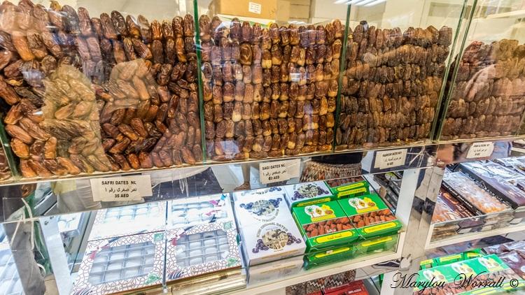 Abu Dhabi : Marché aux dattes
