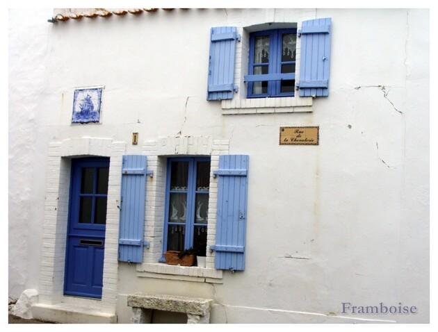 Noirmoutier détails quartier Banzeau